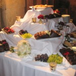 Evening Buffet , Easy gourmet catering, London wedding