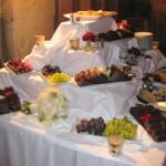 Evening Buffet , Easy gourmet catering, London wedding