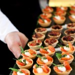 Easy gourmet catering canapes
