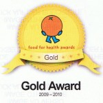 Health Gold Award, Easy Gourmet, London Caterer